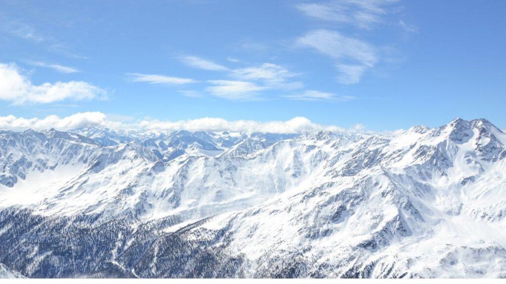 Das Schnalstal in Südtirol