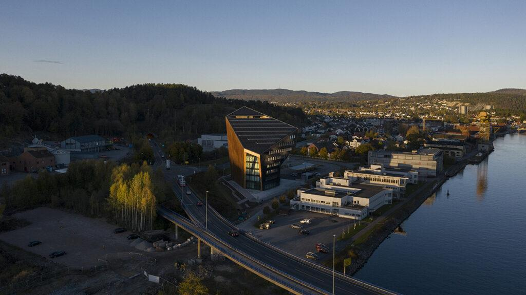 Powerhouse Telemark aerial view (picture credit: Ivar Kvaal)