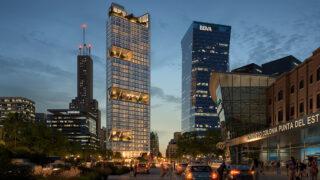 Ein Büroturm als City-Highlight (Bild: Foster + Partners)