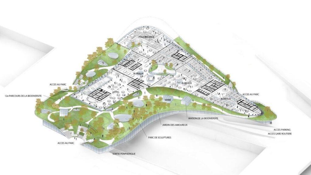 Design plans for Mille Abres