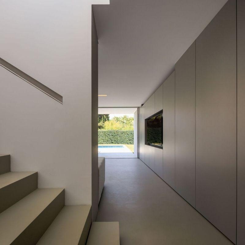 das Innere der Casa del Silencio