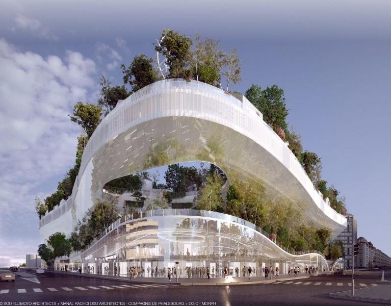 Mille Arbres by OXO Architectes and Sou Fujimoto