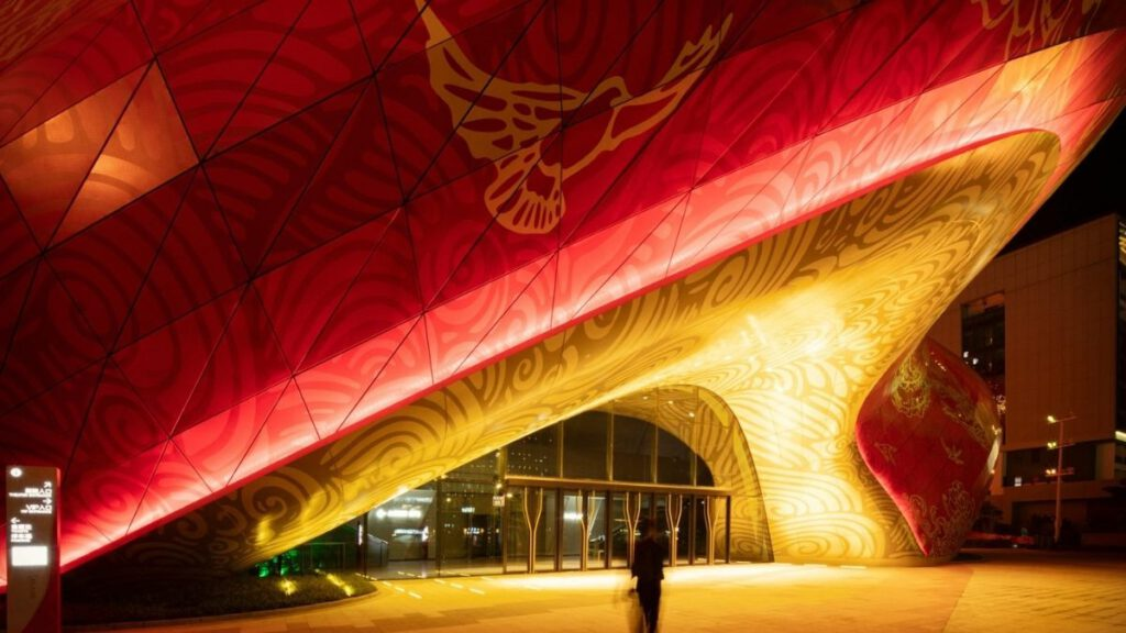 Entrance area, Sunac Guangzhou Grand Theatre