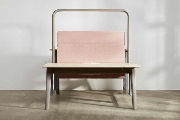 Sit-Stand Workbench, Sage, Benchmark