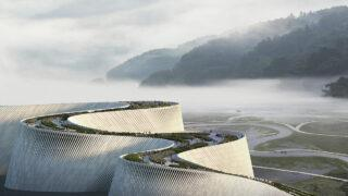 Shenzhen baut der Natur ein Museum (Bild: 3XN)