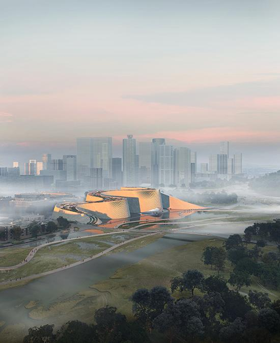 Natural museum for Shenzhen