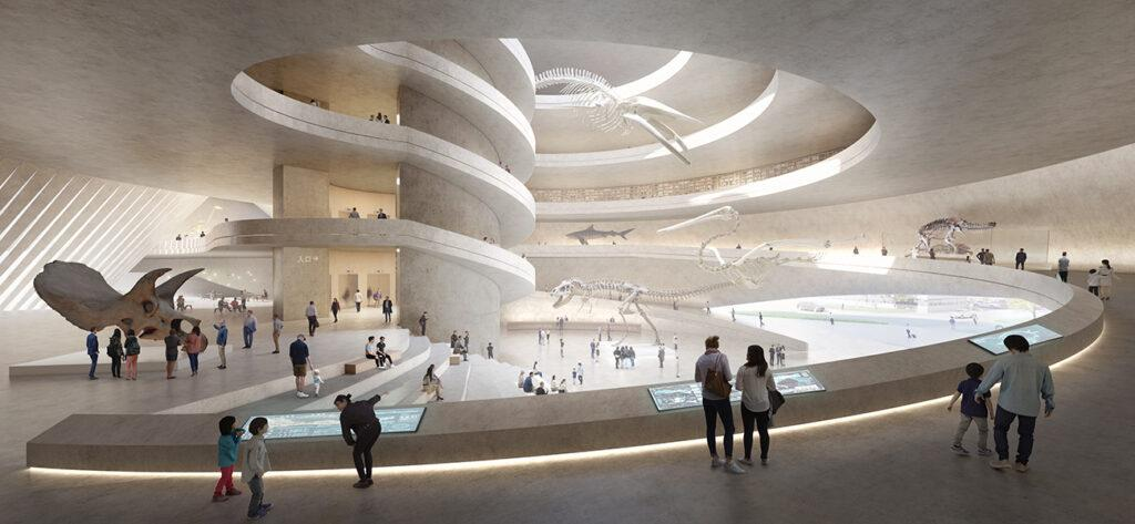 Inside the new natural museum for Shenzhen