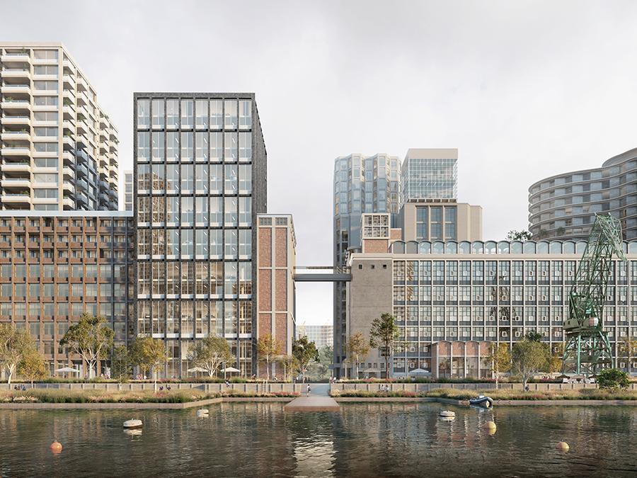 Master plan for Rotterdam