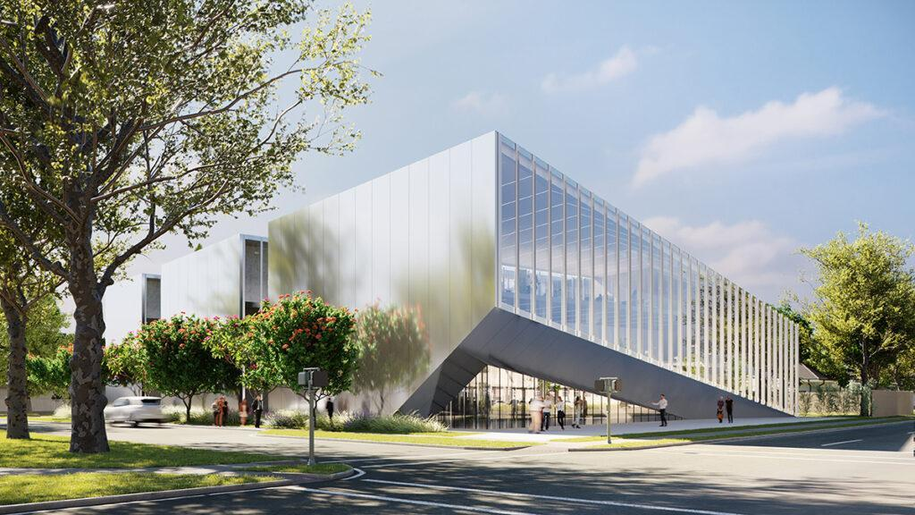 """Das """"gesunde"""" Ochsner Center (Bild: Trahan Architects)"""