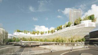 Mille Arbres Projekt in Paris Porte Maillot