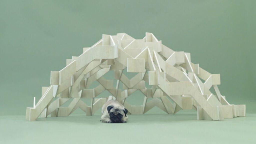 Hundehütte von Kengo Kuma