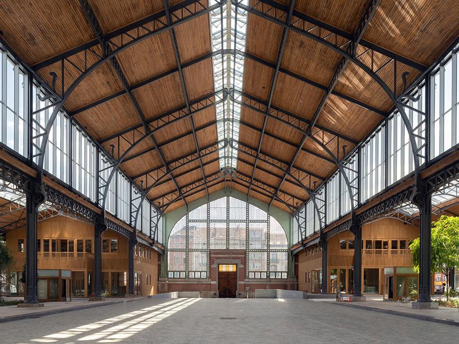 Neutelings Riedijk ist bekannt für extravagante Bauwerke. Hier: Der Brüsseler Gare Maritime (Bild: Sarah Blee)