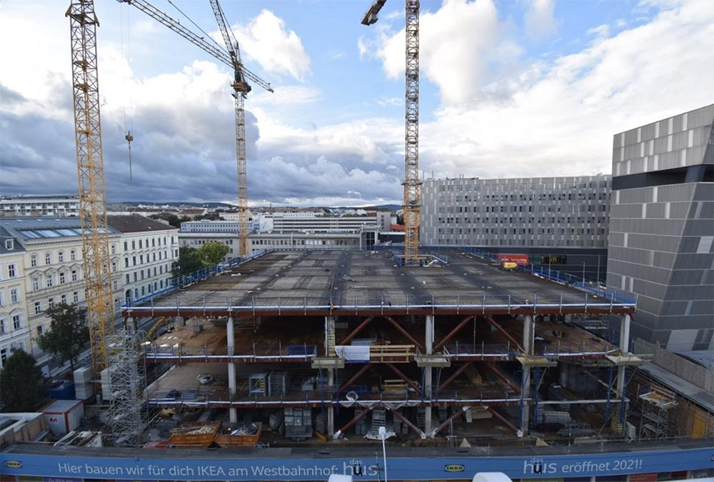 Progress in the city: the new building is scheduled to open this year. (Image: GREENPASS)
