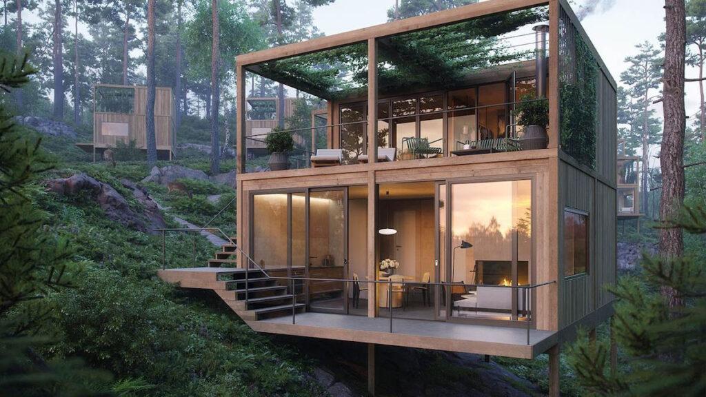 Movikheien Cabins