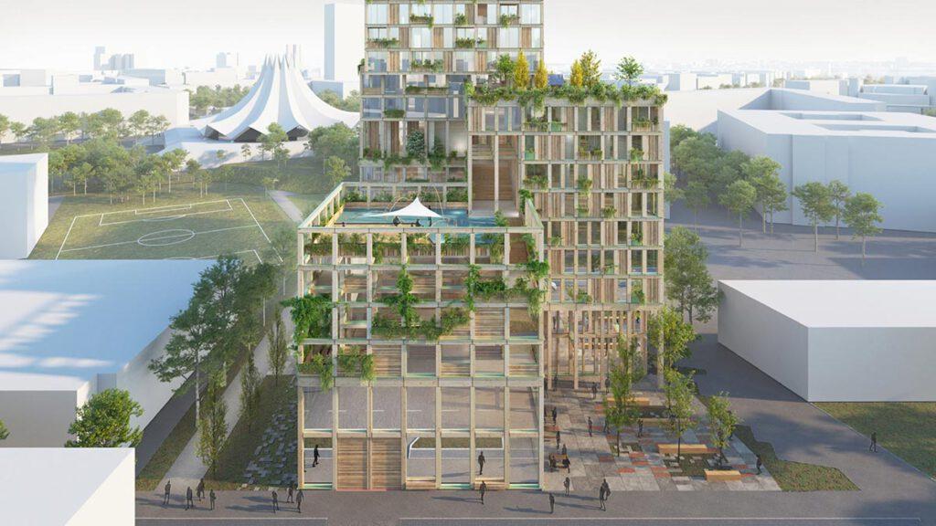 WoHo Berlin, Mad Arkitekter