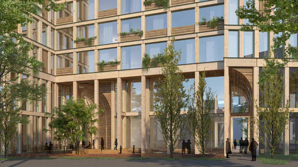 Plaza, WoHo Berlin, Mad Arkitekter