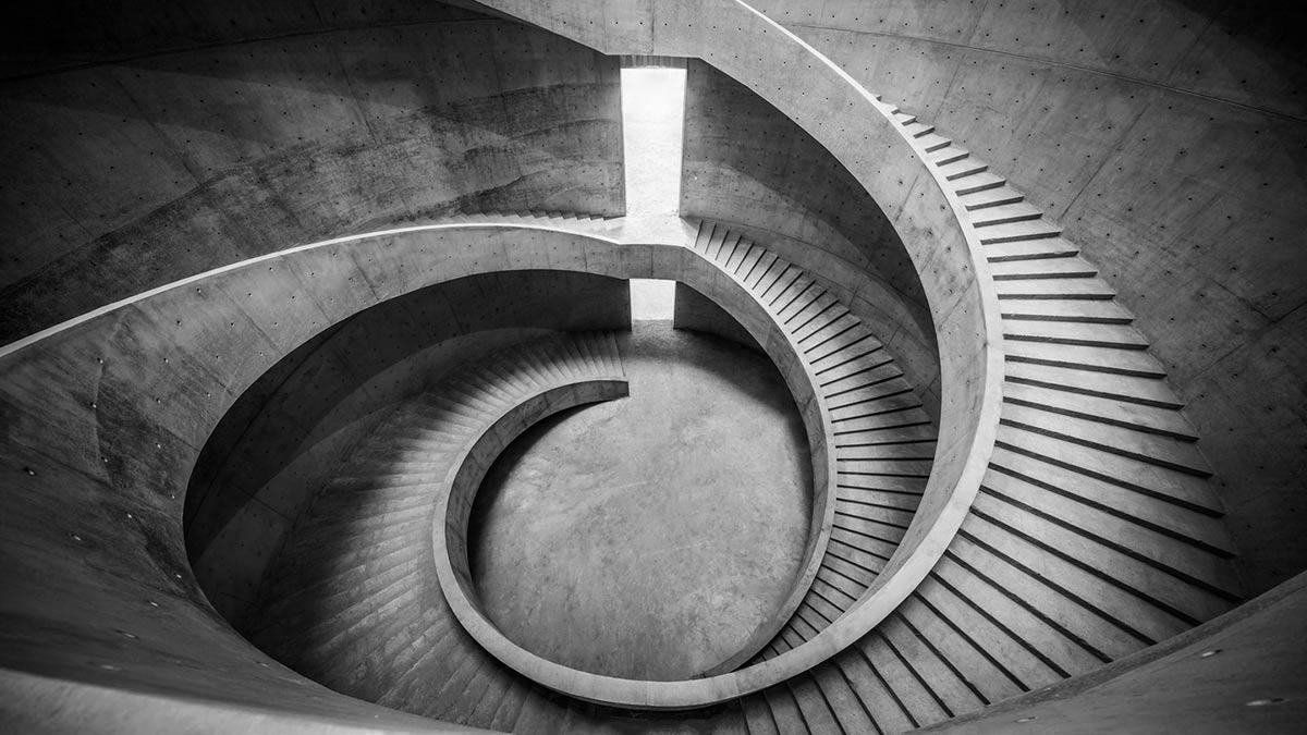 Treppe, He Art Museum