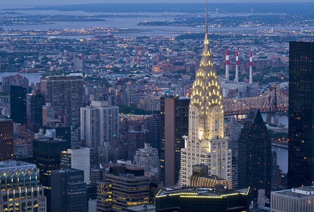 """Top-Ersatz für Trumps """"Grand Hyatt"""". Das Chrysler Building zählt zu den berühmten Nachbarn des Projekts. (Bild: JacobH / Gettyimages)"""