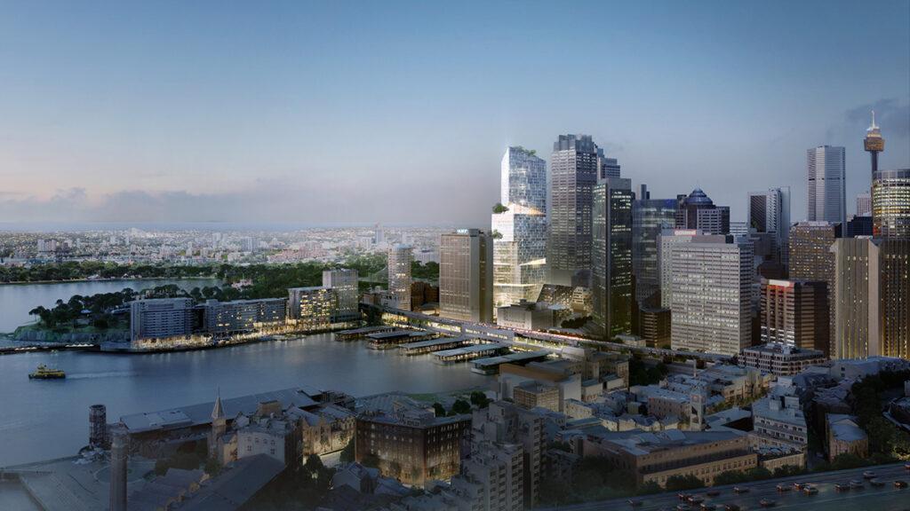 """""""Nachhaltigkeit hat viele Facetten"""". Den 200 Meter hohen """"Quay Quarter Tower"""" in Sydney konzipiert 3XN als """"vertikales Dorf"""". (Bild: 3XN)"""