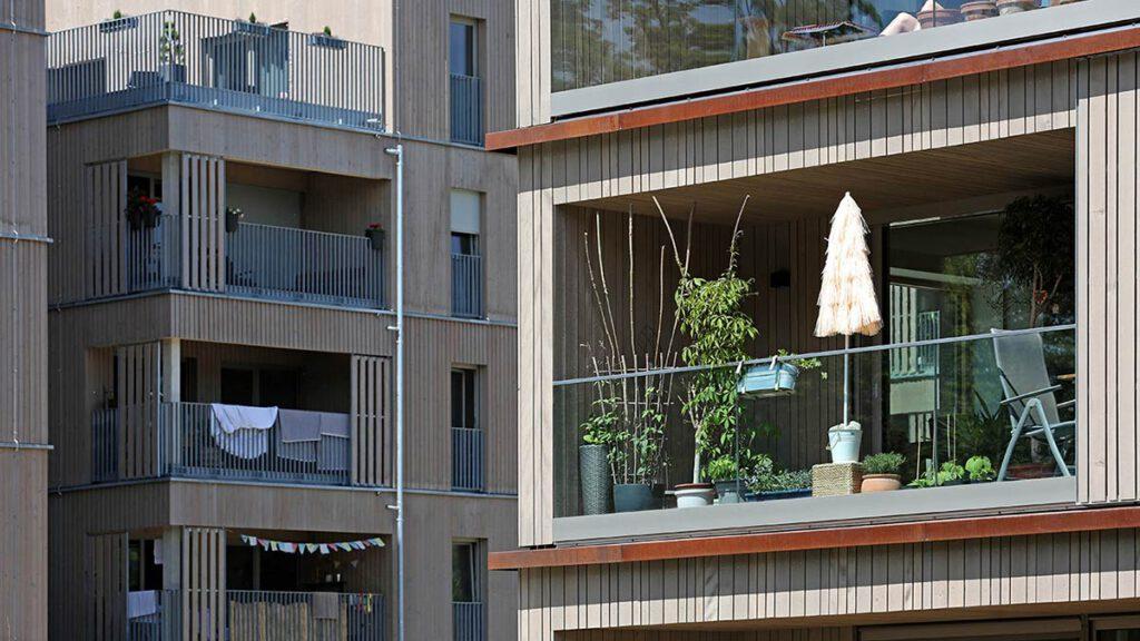 WA 14 East, ecological model settlement, Munich
