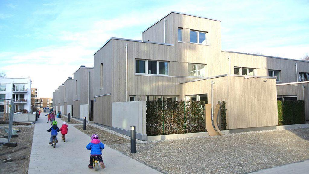 WA 16 East, ecological model settlement, Prinz-Eugen-Park
