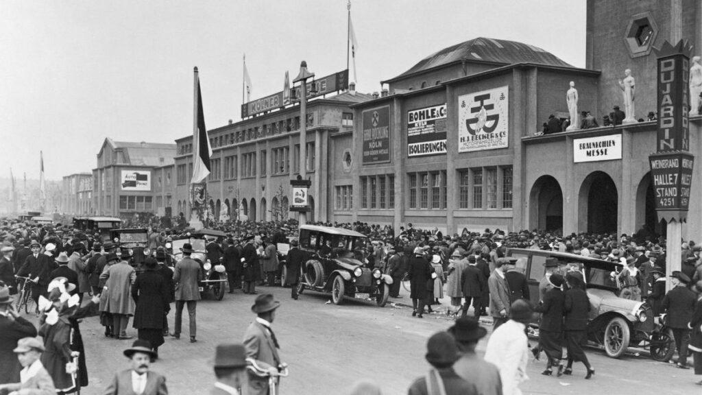 Koelnmesse einst um 1926