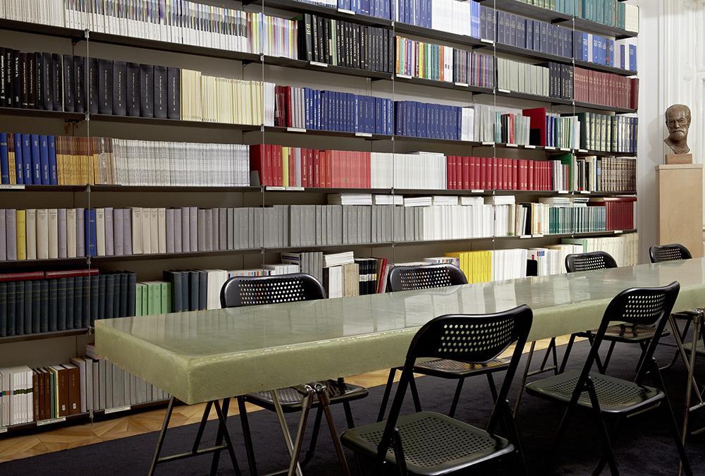 Die ehemalige Bibliothek im Wiener Freud Museum. (Bild: Florian Lierzer, Sigmund Freud Privatstiftung)