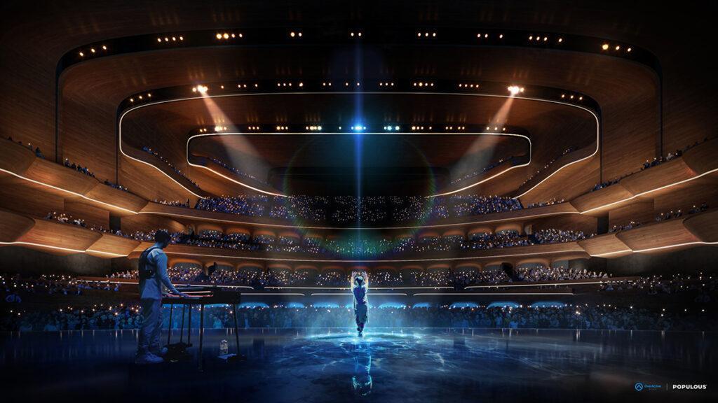 Konzert, E-Game-Turnier oder Kongress: Die neue Arena in Toronto soll Top-Bedingungen für alles bieten. (Bild: Populous)