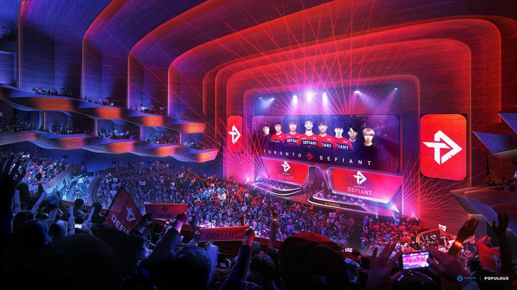 Smarte E-Sport Arena für Toronto (Bild: Populous)