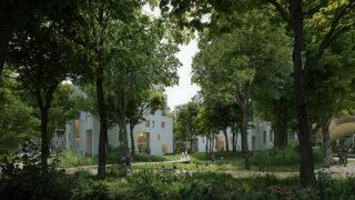 """Ein """"Wohn-Wald"""" wächst in Groningen (Bild: Proloog / für Powerhouse Company)"""