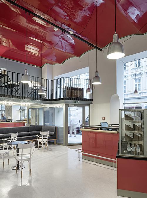 Das neue, einladende Foyer im Sigmund Freud Museum. (Bild: Hertha Hurnaus, Sigmund Freud Privatstiftung)