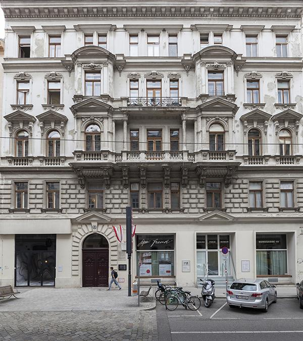 Wiener Freud Museum, Außenansicht vor der Sanierung (Bild: Oliver Ottenschlaeger, Sigmund Freud Privatstiftung)