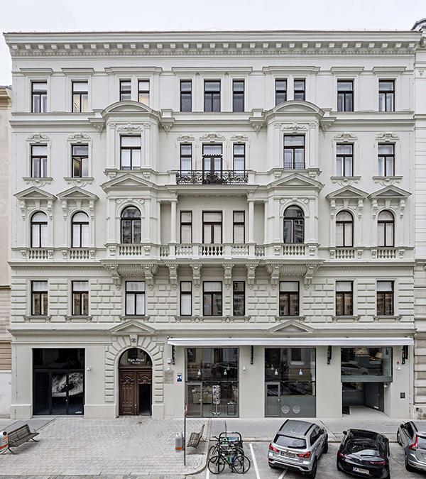 Wiener Freud Museum, Außenansicht nach der Sanierung (Bild: Hertha Hurnaus, Sigmund Freud Privatstiftung)