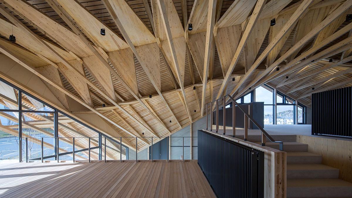 Deckenkonstruktion, Synegic, Uenoa, Japan
