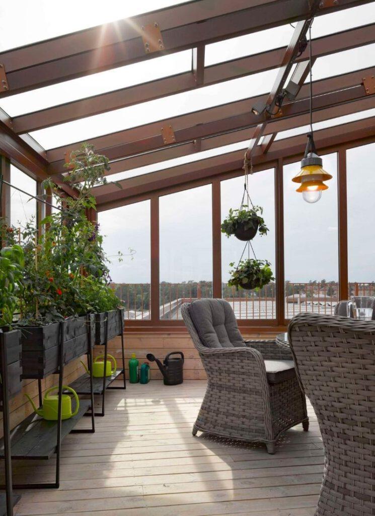 Sinnliche Dachgärten im Stadtentwicklungsgebiet Bäckaslöv in Växjö