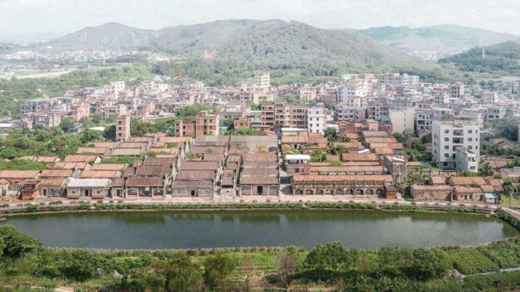 Das Dorf Gangtou in China