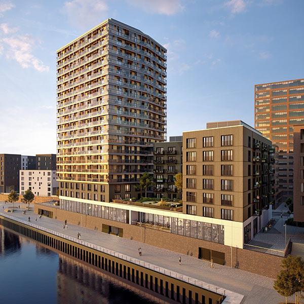 Ansicht Hafenkante, Roots, Hamburg