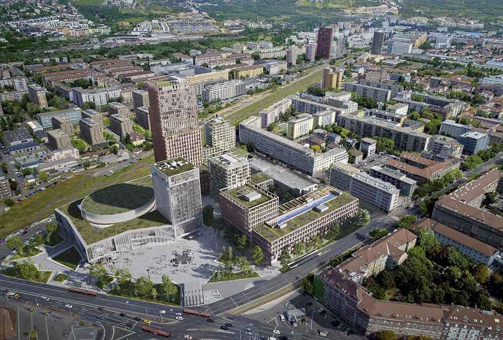 Bratislava baut auf Kultur. (Bild: KCAP und CITYFÖRSTER / Playtime)