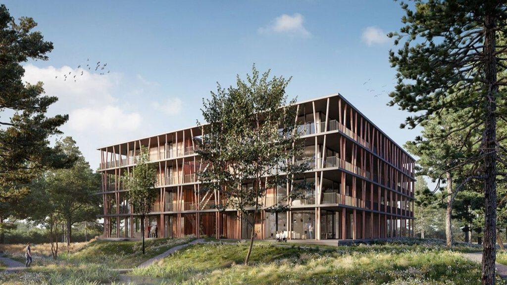 Het Bosbad des niederländischen Architekturbüros Gaaga