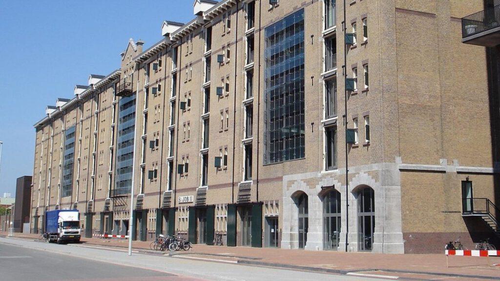 Die Lloydstraat in Lloyd-Quartier in Rotterdam