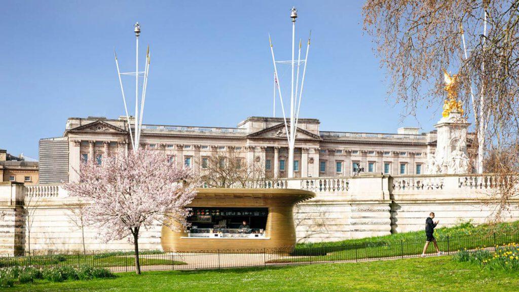 Eine Edel-Bude für Buckingham