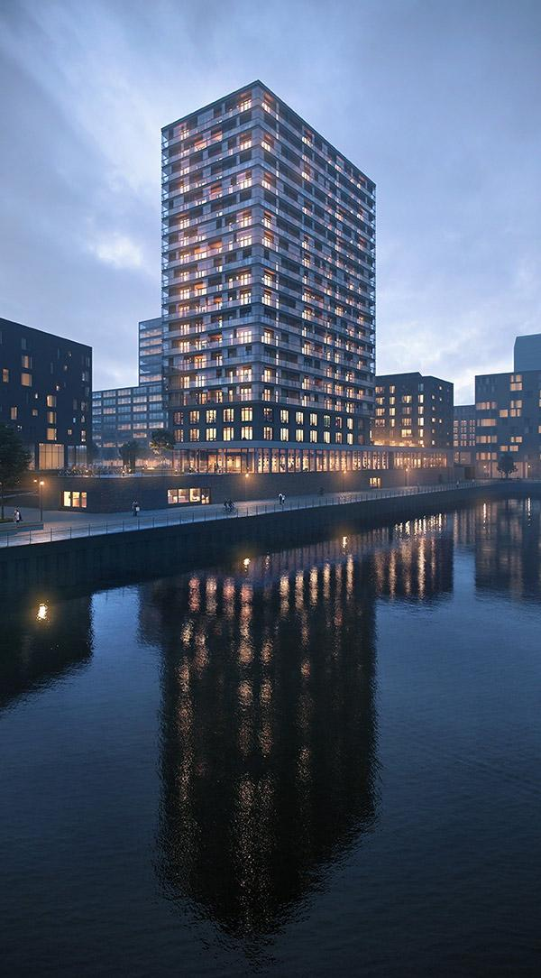 Nachtansicht, Roots, Hamburg