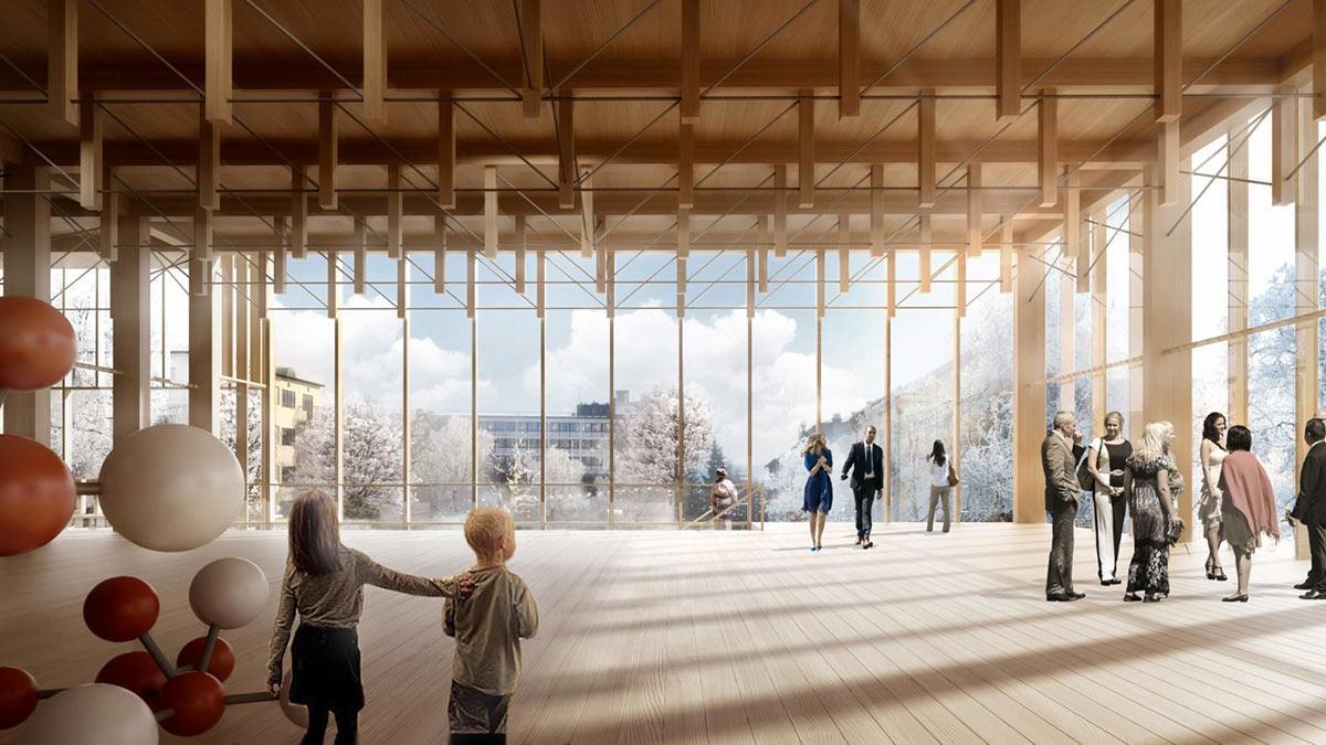 Kunstgalerie, Sara Kulturhus, Skellefteå, White Arkitekter