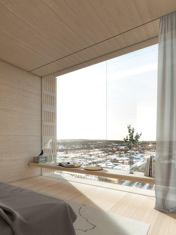 Hotel, Sara Kulturhus, Skellefteå, White Arkitekter