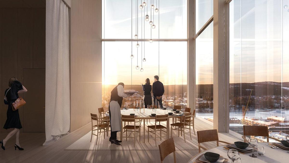 Restaurant, Sara Kulturhus, Skellefteå, White Arkitekter