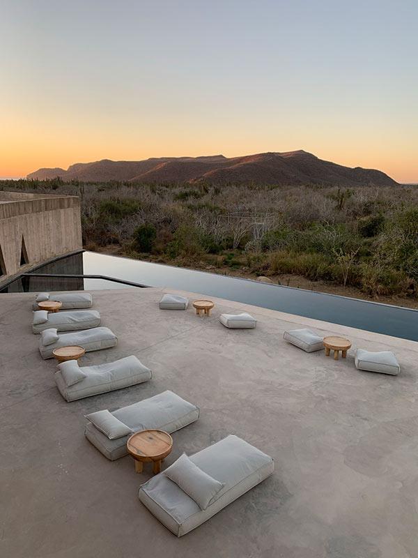 Infinity Pool, Paradero Todos Santos, Baja California