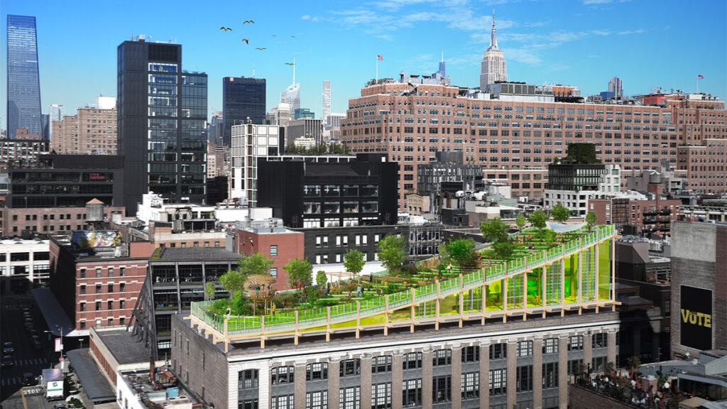 Ein Biotop über Manhattan