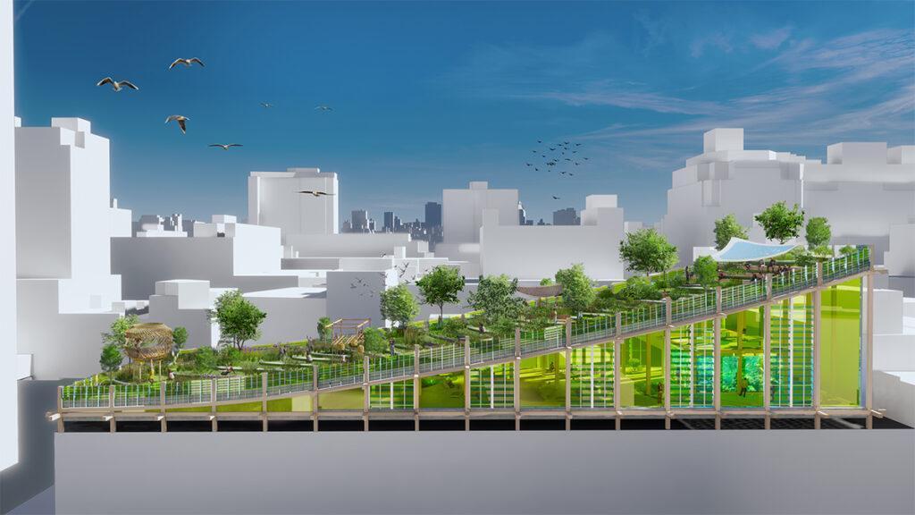 Ein Biotop über Manhattan (Bild: 3deluxe)