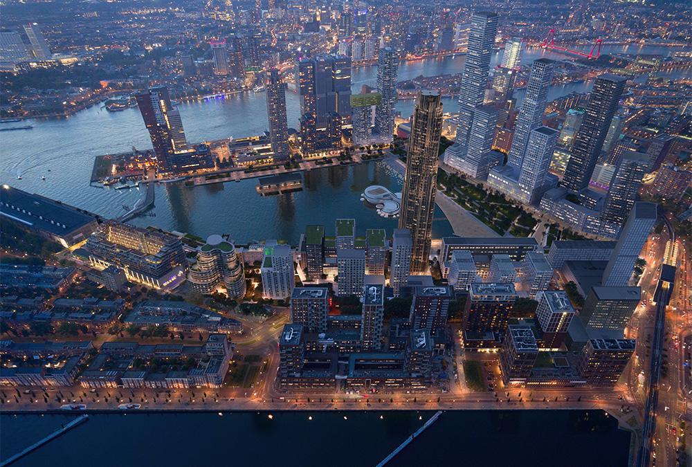 """""""Der Klimawandel ändert alles"""". Das Büro Powerhouse Company hat den Masterplan für die Modernisierung des Rotterdamer Codrico-Geländes geschaffen. (Bild: Plomp)"""