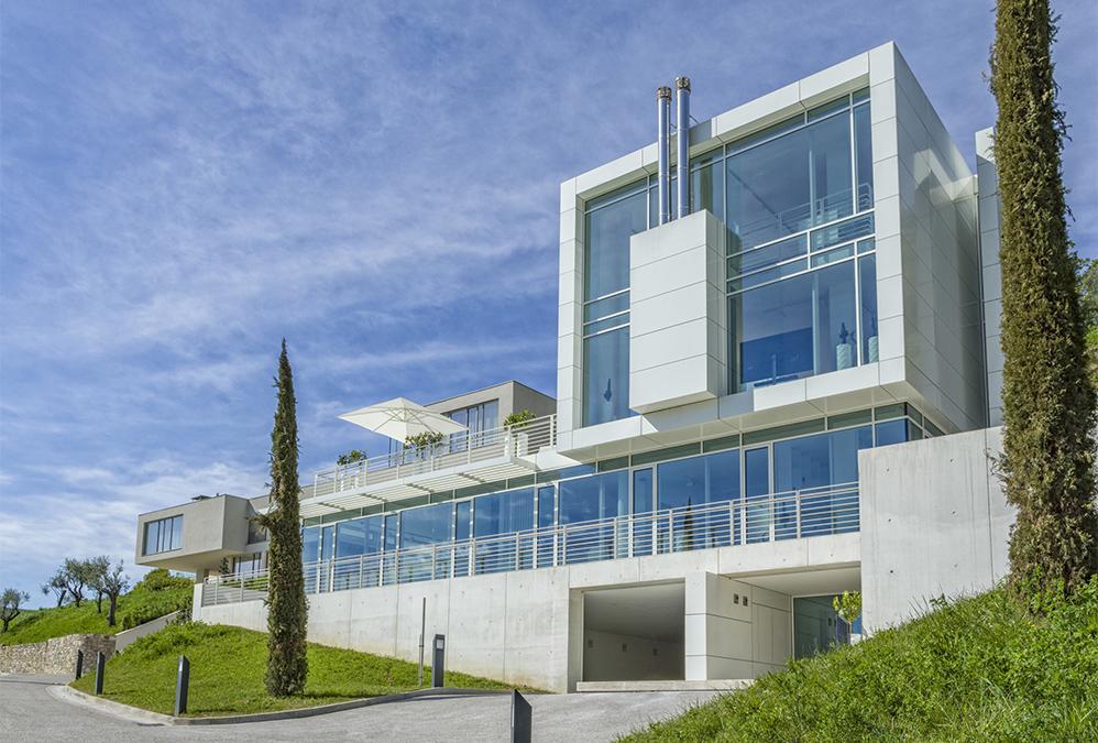 """Von Richard Meier designte Villa im """"Eden"""" für Design-Verliebte. (Bild: Eden Reserve, Hotel & Villas)"""